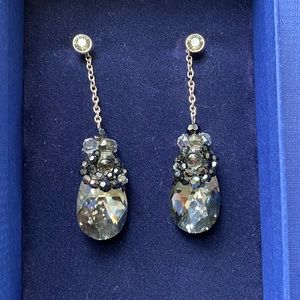 Swarovski Crystal Bauble Earrings